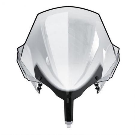 Сверхвысокое цельное ветровое стекло для снегохода XU, XR 860201000