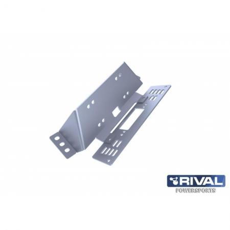 Комплект крепления лебедки UTV Polaris Ranger 400/500/570 (2 части) (2011-)
