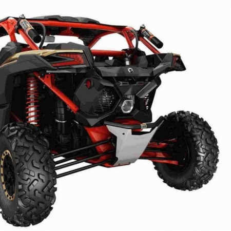 Dune Rear Bumper – Can-Am Red