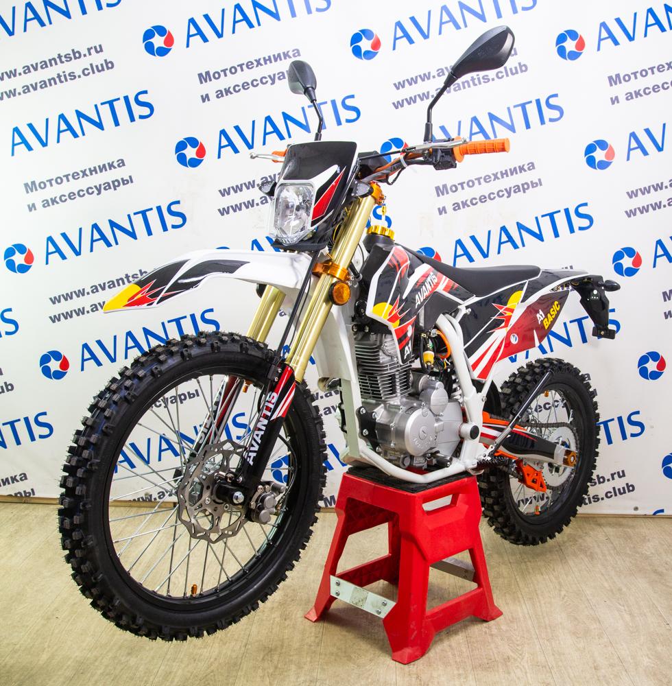 Мотоцикл Avantis A2 Basic (166FMM) ПТС