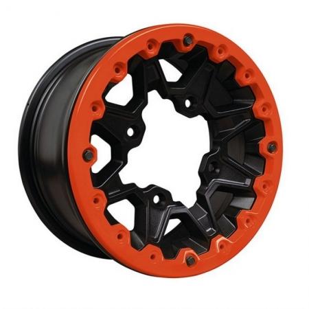 Пластина дисковая на колесо красная 12″ Maverick Beadlock — Can-Am Red