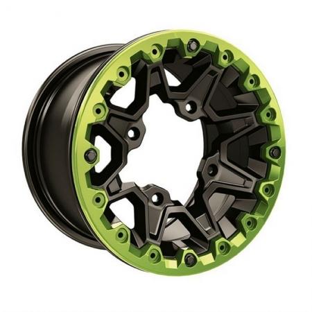 Пластина дисковая на колесо зеленая Manta Green- Painted Reinforcement Disk