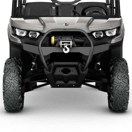 Передний бампер с лебедкой S3 Front Winch Bumper — Black
