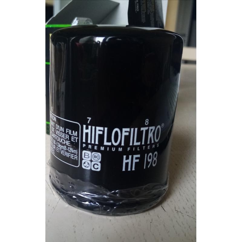 HIFLO FILTRO Фильтр масляный HF198