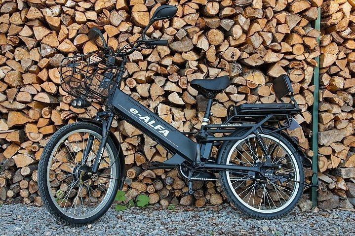 Велогибрид GREEN CITY e-ALFA GL 2019