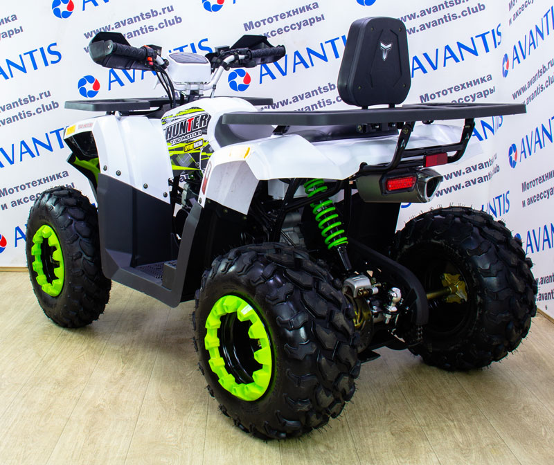 Квадроцикл Avantis Hunter 200 New LUX (баланс.вал)